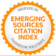 Emerging Sources Citation Index (WoS) logo