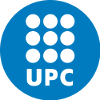 Polytechnic University of Catalonia logo.